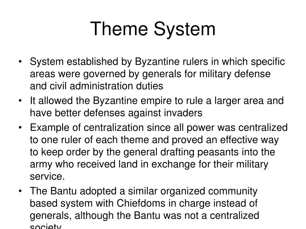 Theme System