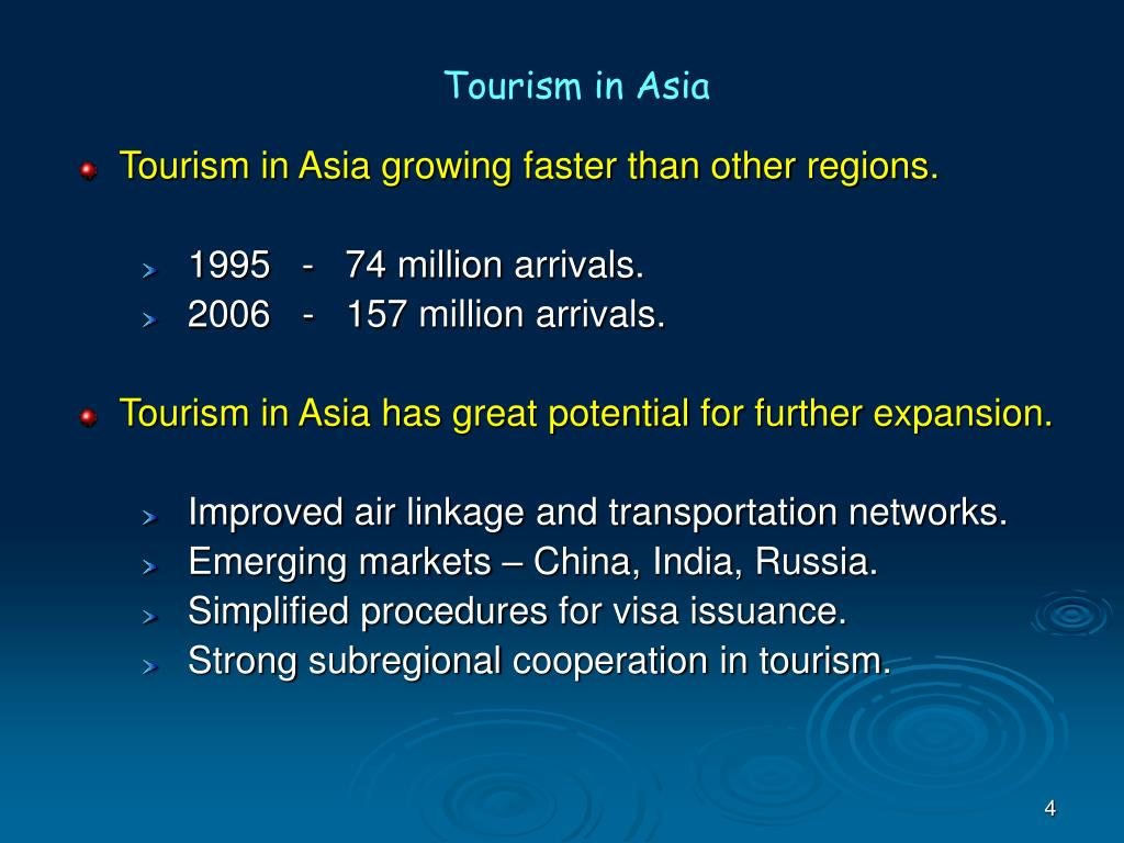 Tourism in Asia