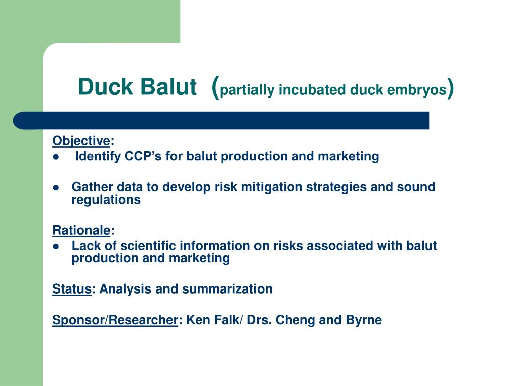 Duck Balut