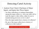 detecting cartel activity27