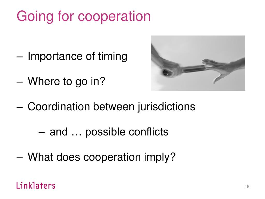 Going for cooperation