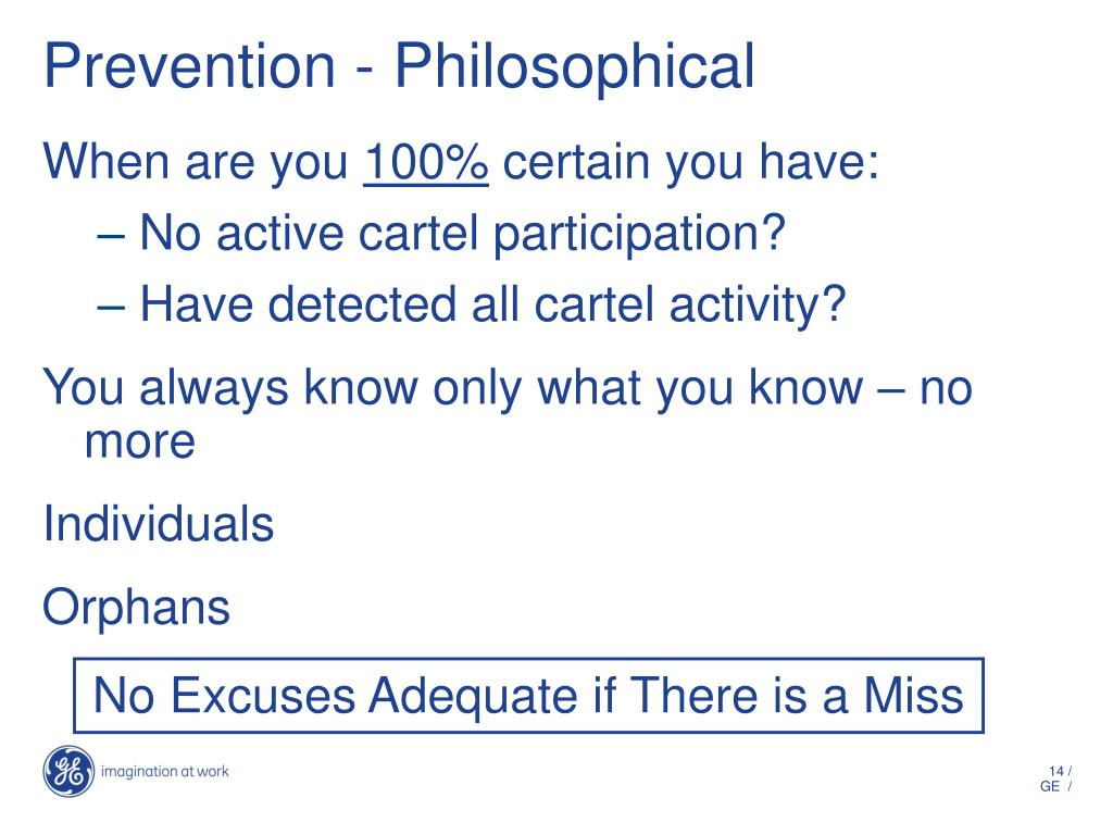 Prevention - Philosophical