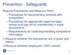 prevention safeguards