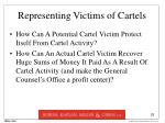 representing victims of cartels