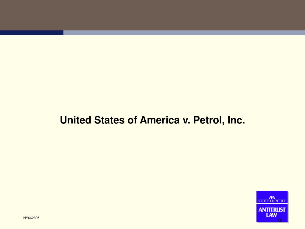 United States of America v. Petrol, Inc.