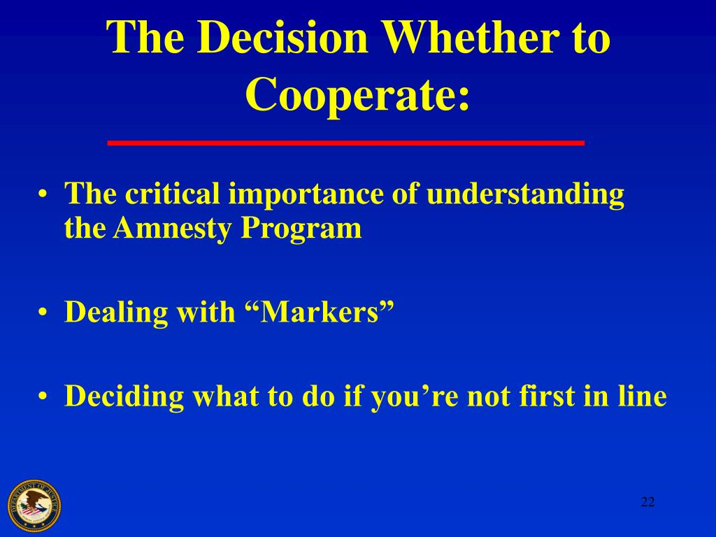 The Decision Whether to Cooperate: