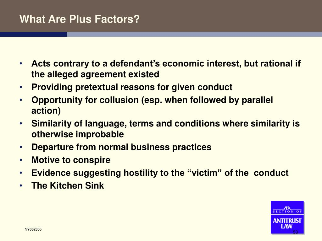 What Are Plus Factors?