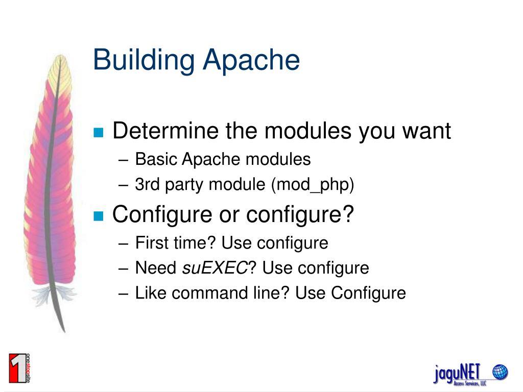 Building Apache