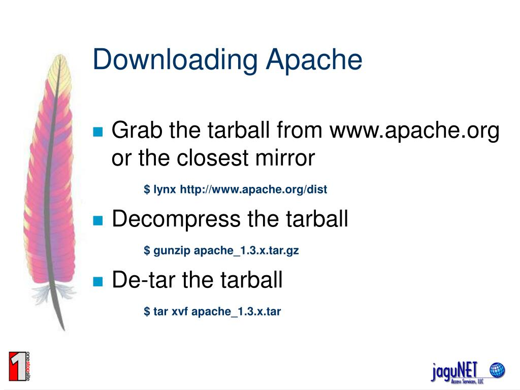 Downloading Apache