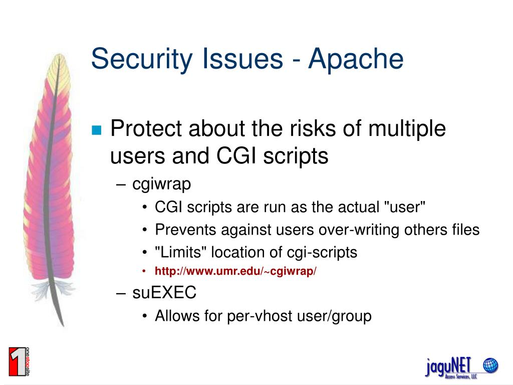 Security Issues - Apache