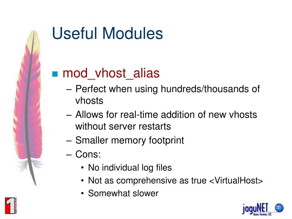 Useful Modules
