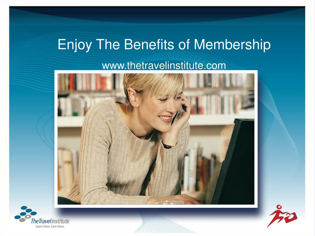 Enjoy The Benefits of Membership