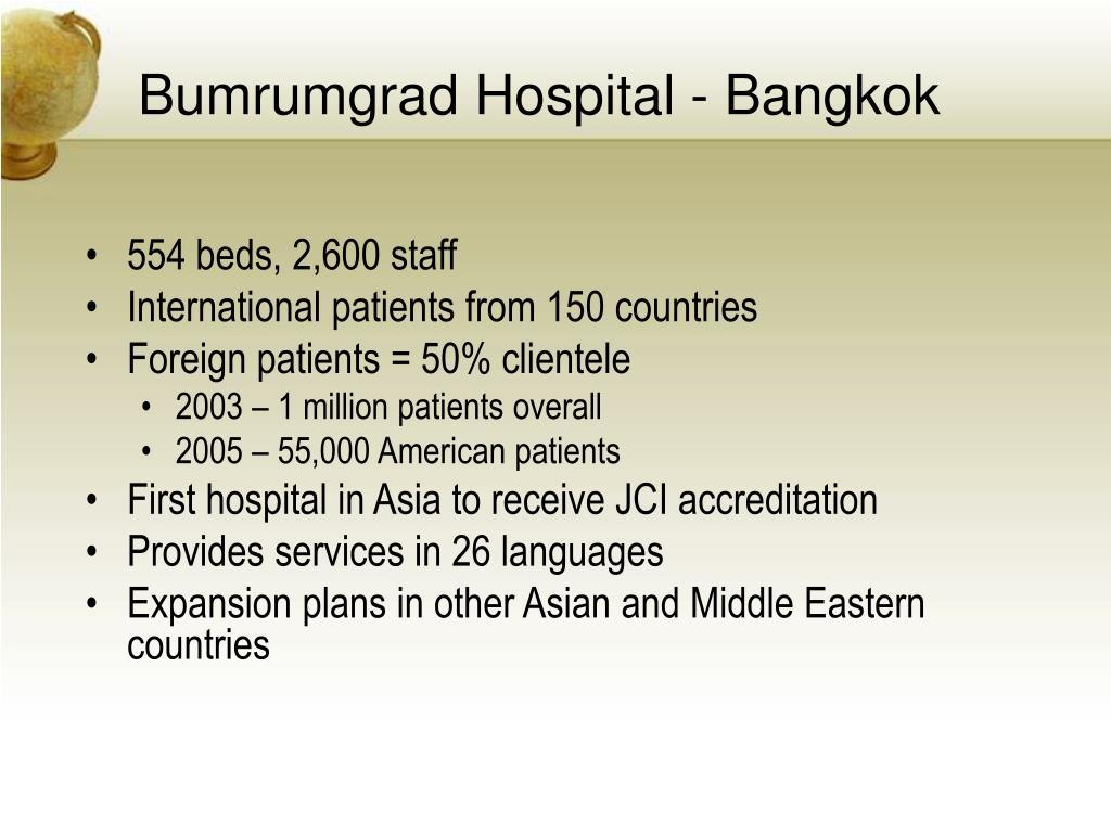 Bumrumgrad Hospital - Bangkok