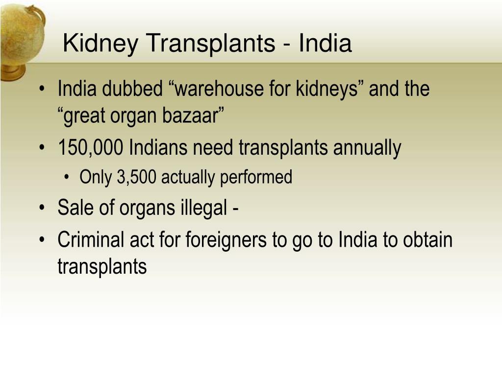 Kidney Transplants - India