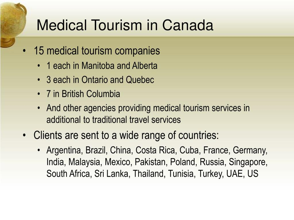 Medical Tourism in Canada