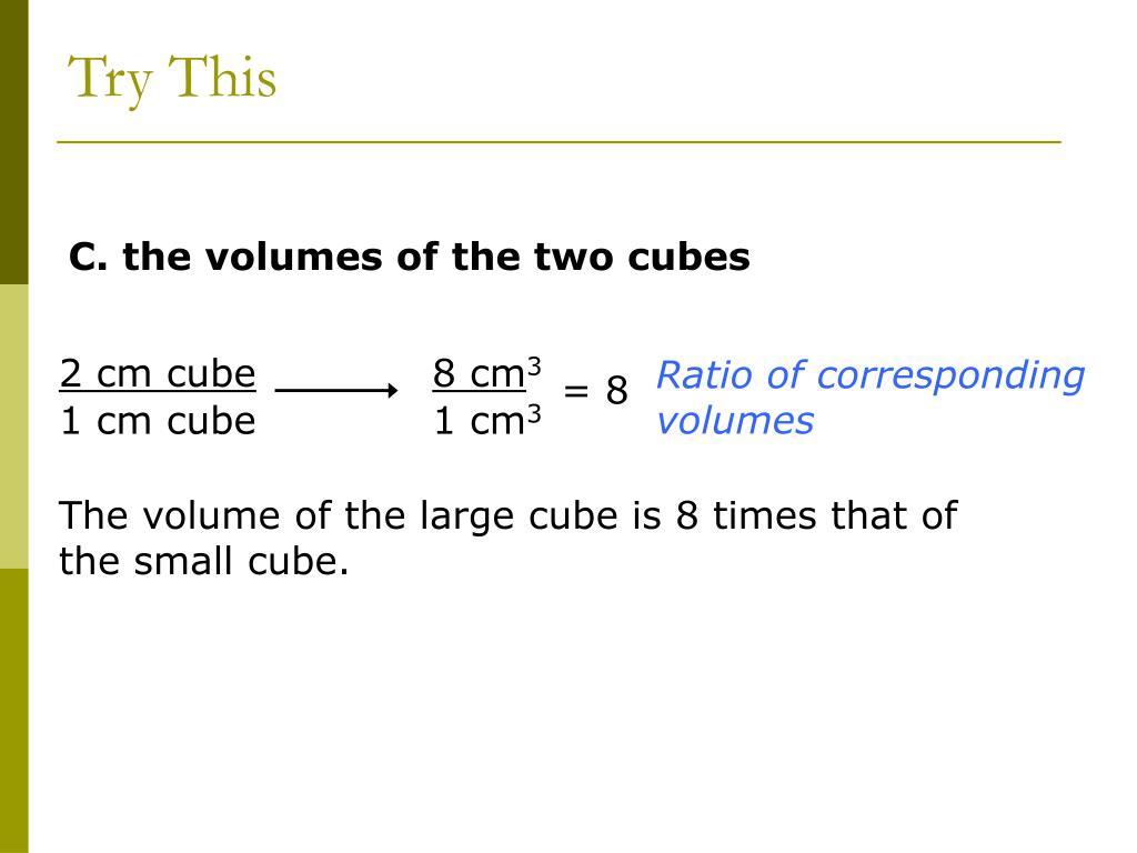 2 cm cube
