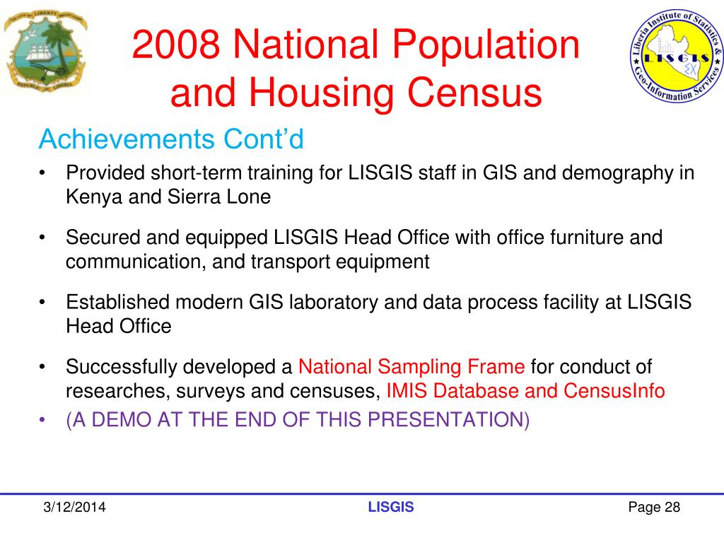 2008 National Population and Housing Census