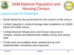 2008 national population and housing census29