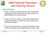 2008 national population and housing census33