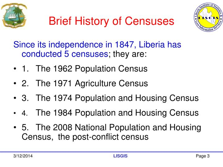 Brief history of censuses l.jpg