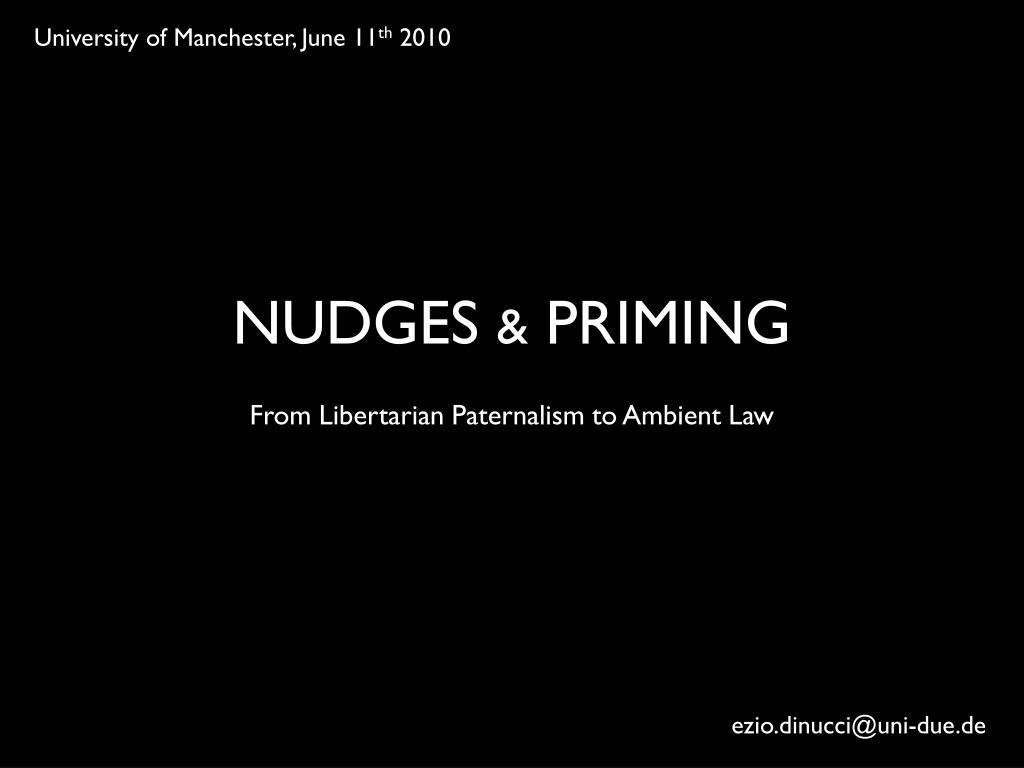 University of Manchester, June 11