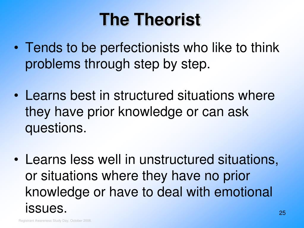The Theorist