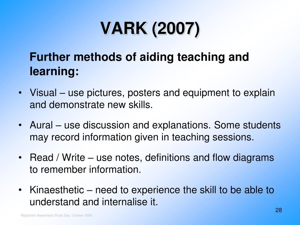 VARK (2007)