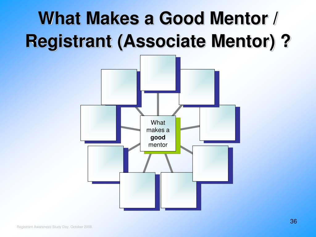 What Makes a Good Mentor / Registrant