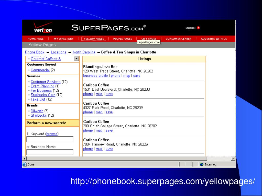 http://phonebook.superpages.com/yellowpages/