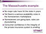 the massachusetts example