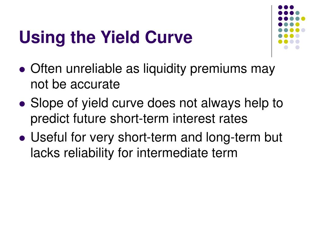 Using the Yield Curve