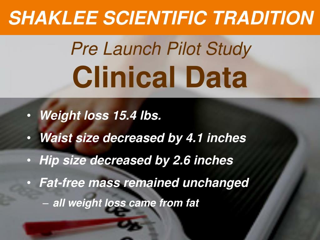 SHAKLEE SCIENTIFIC TRADITION