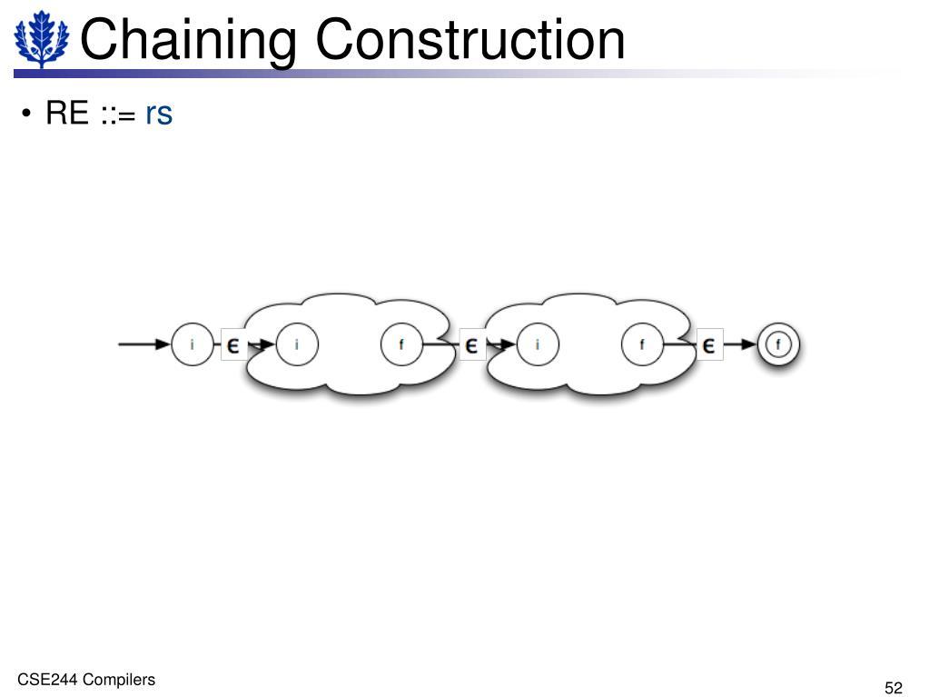 Chaining Construction