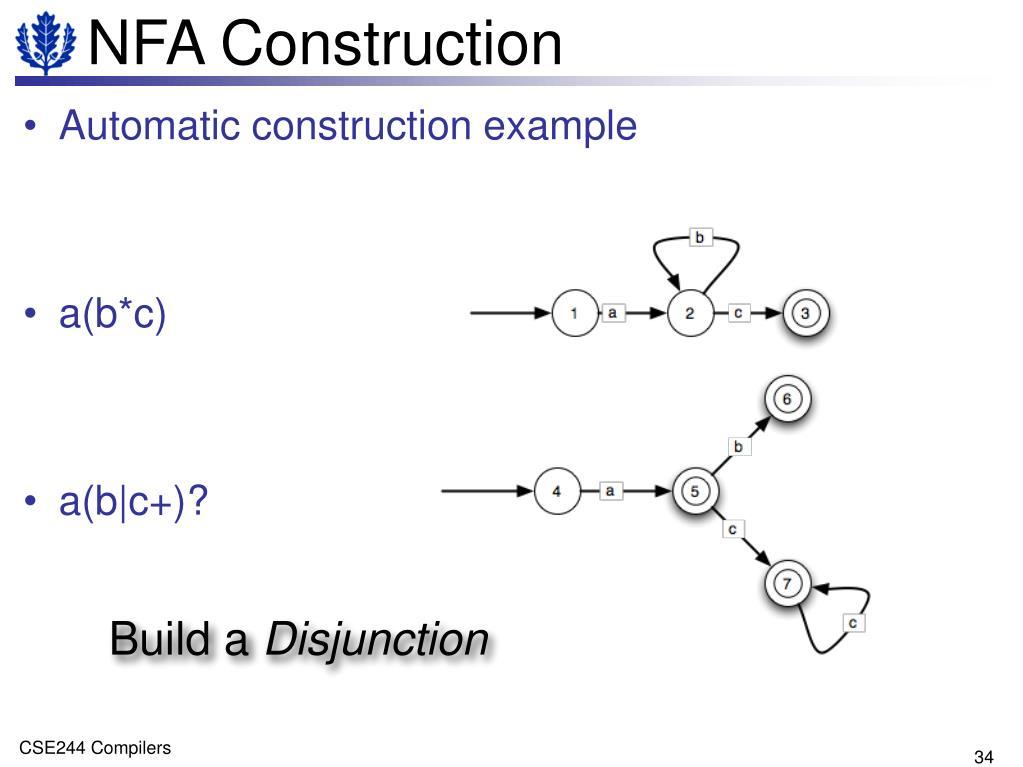 NFA Construction