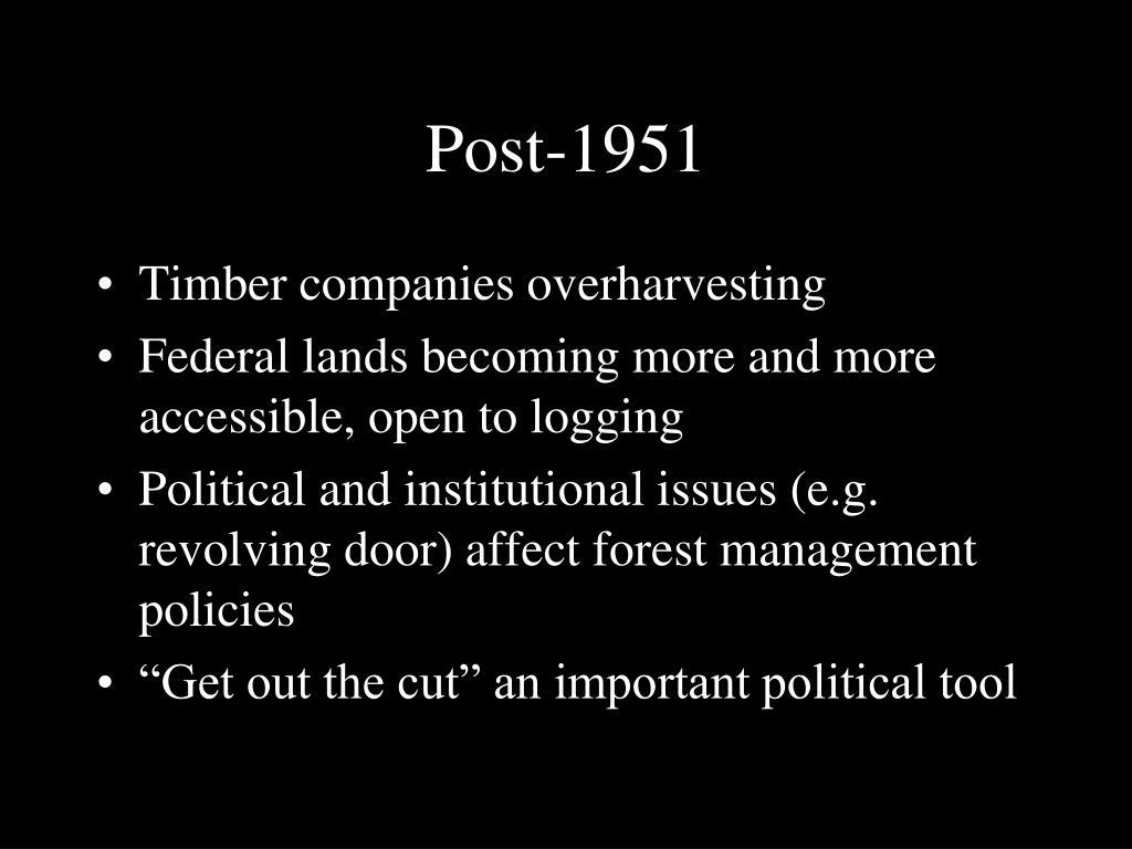 Post-1951
