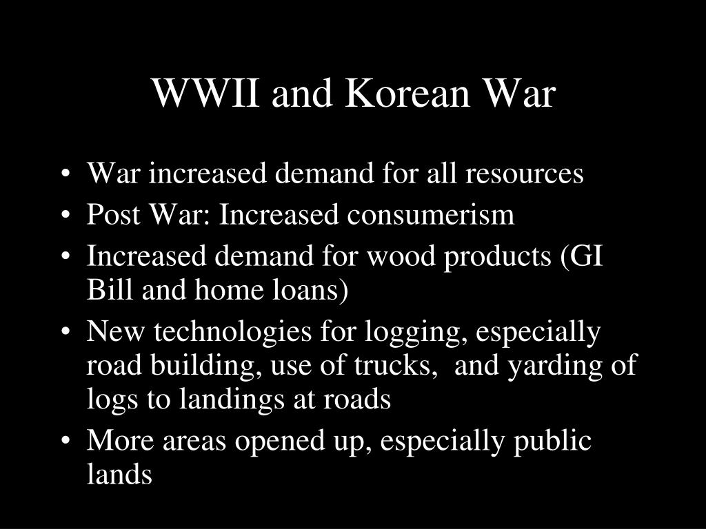 WWII and Korean War