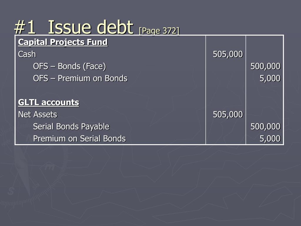 #1  Issue debt