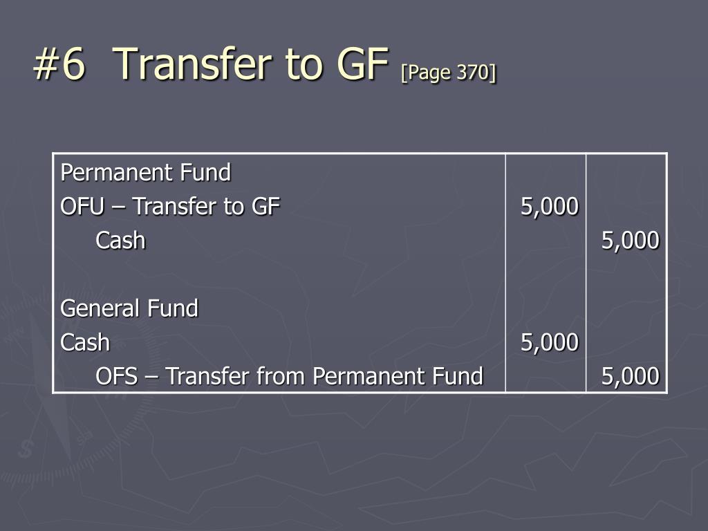 #6  Transfer to GF