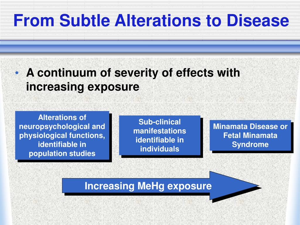 From Subtle Alterations to Disease