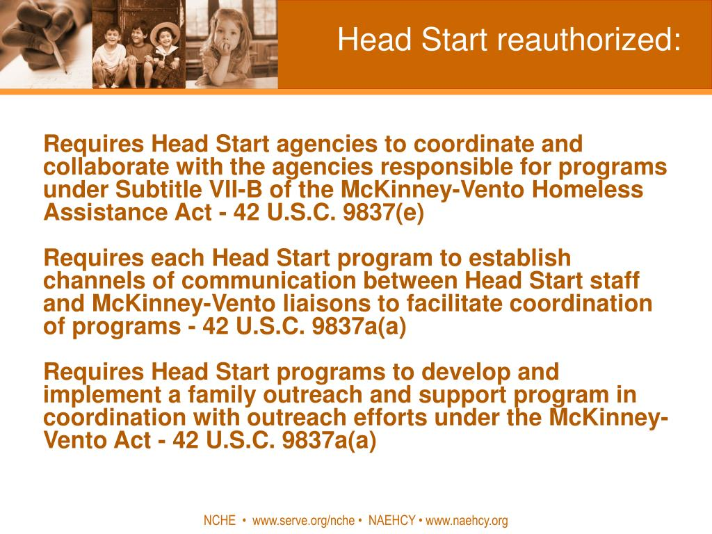 Head Start reauthorized: