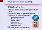 direct mail or fax