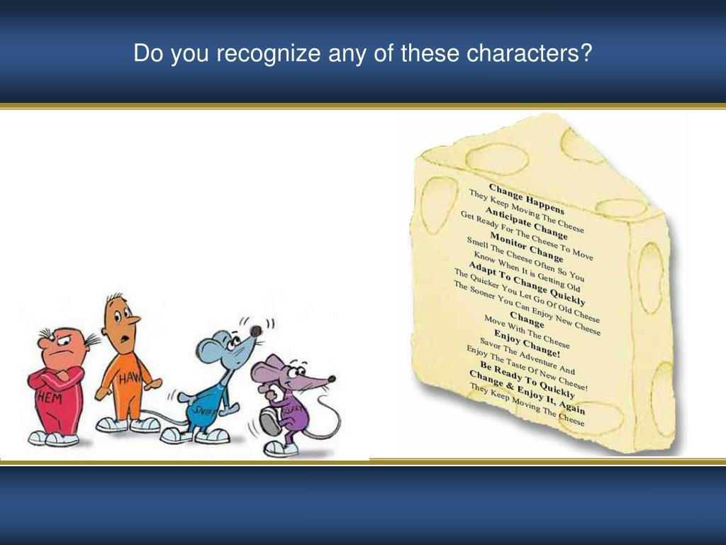 Do you recognize any of these characters?