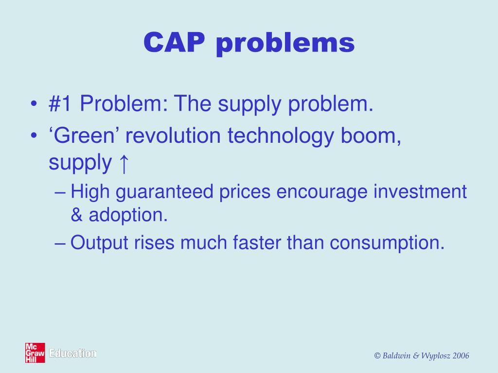 CAP problems
