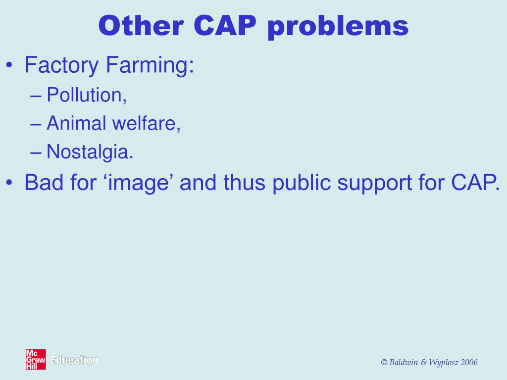 Other CAP problems