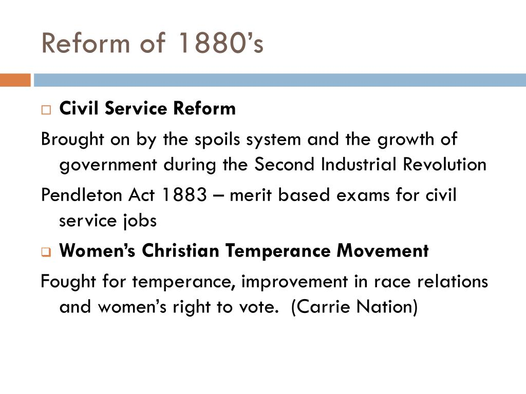 united states reform movements Ap® united states history 2002 scoring guidelines  • discusses reform movements with limited analysis, and some connection to democratic ideals.