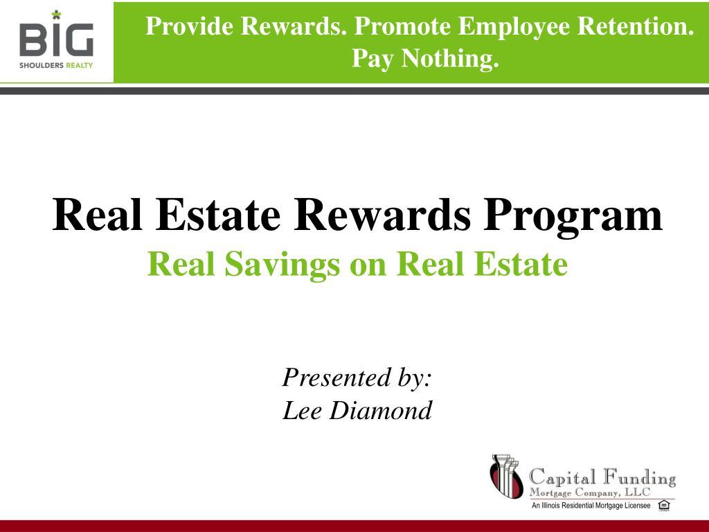 Real Estate Rewards Program