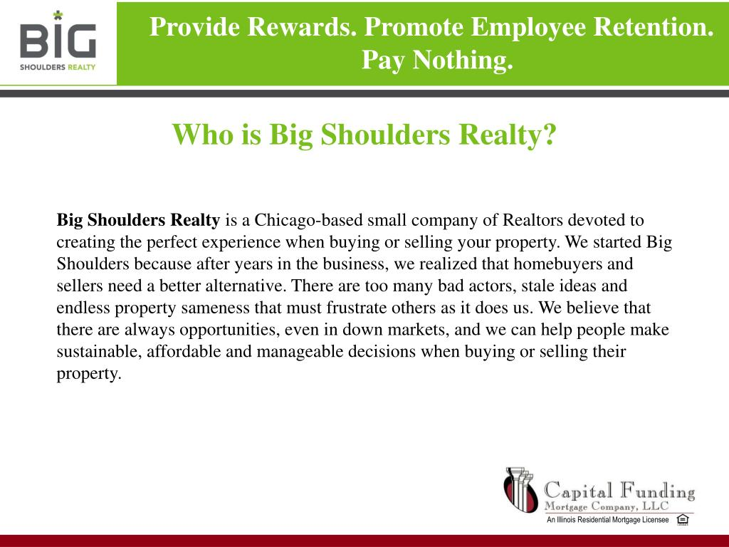 Who is Big Shoulders Realty?