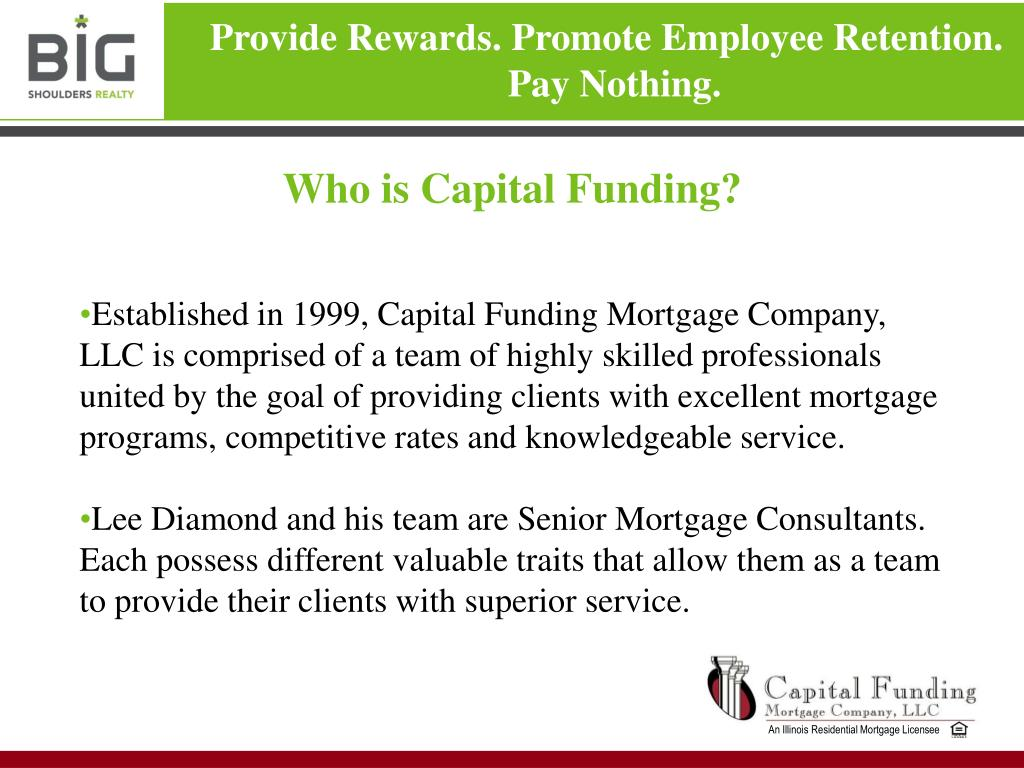 Who is Capital Funding?