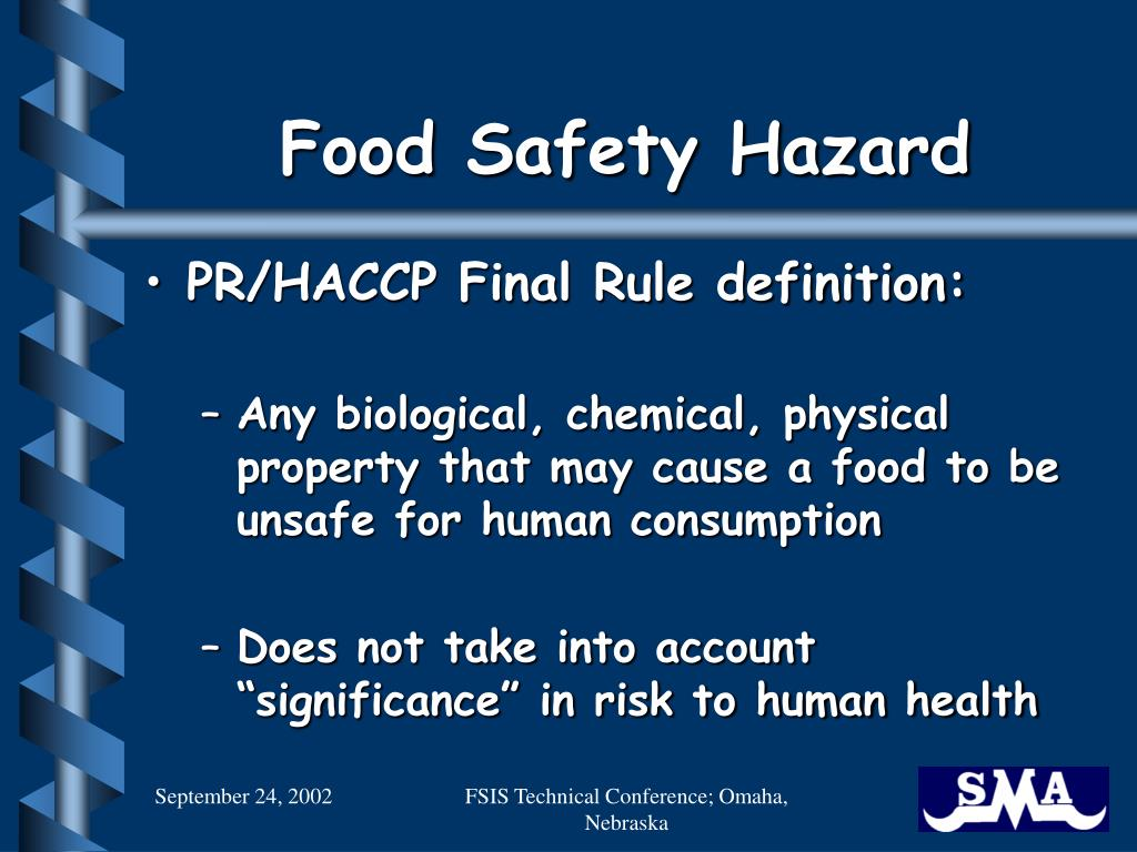 Ppt foreign material contamination haccp and - Haccp definition cuisine ...