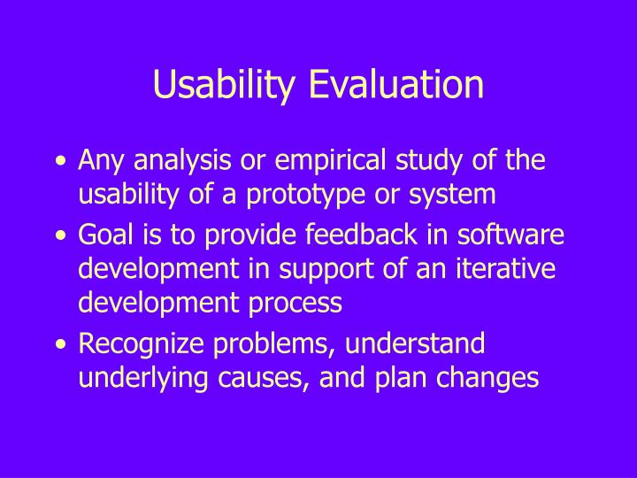 Usability evaluation l.jpg